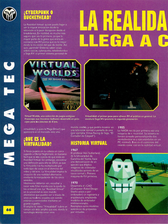 Advergame World - Aleix Risco - MegaSega - Sega VR #1