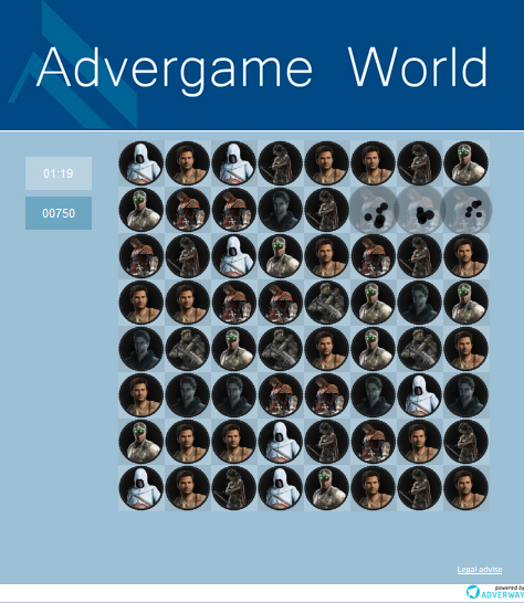 Advergame World - Aleix Risco - Adverway - Advergame Gameplay II