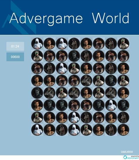 Advergame World - Aleix Risco - Adverway - Advergame Gameplay
