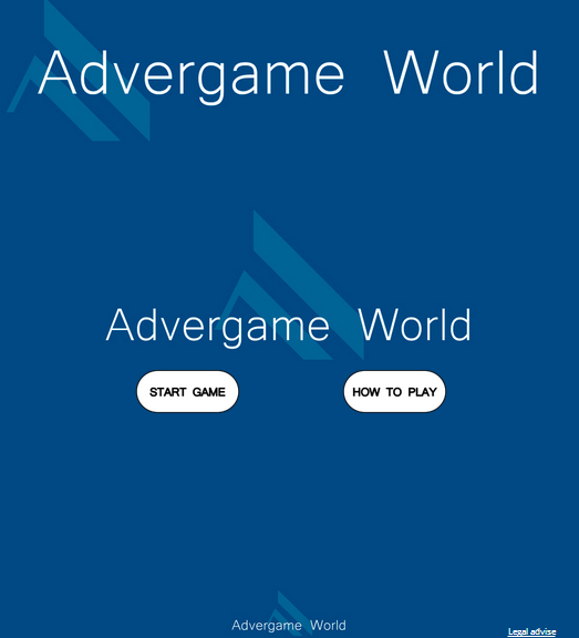 Advergame World - Aleix Risco - Adverway - Advergame Inicio