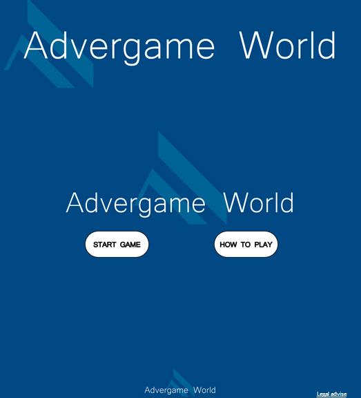 Advergame World - Aleix Risco - Adverway - Advergame Inicio