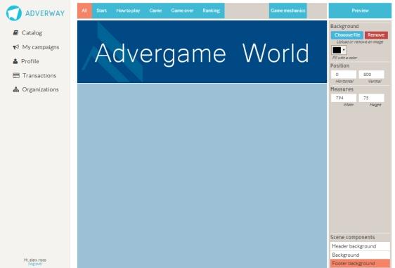 Advergame World - Aleix Risco - Adverway - Creación Advergame 01