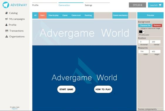 Advergame World - Aleix Risco - Adverway - Creación Advergame 02