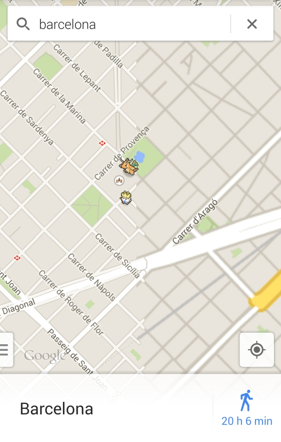 Advergame World - Aleix Risco - Pokemon Challange - Sagrada Familia