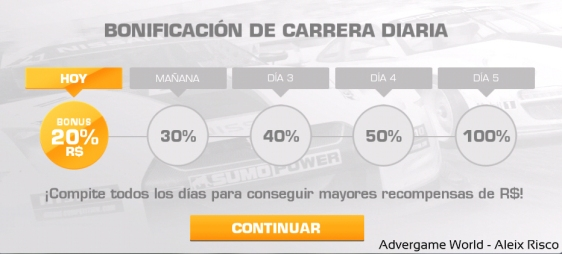Advergame World - Aleix Risco - Real Racing 3 - Engagement - RR3