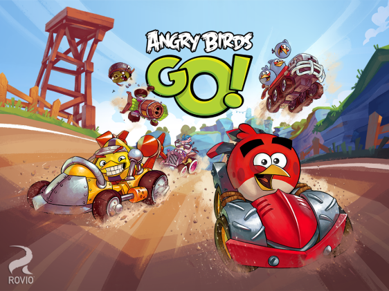 Advergame World - Aleix Risco - Angry Birds GO - Rovio