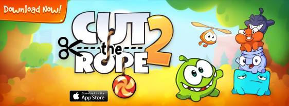 Advergame World - Aleix Risco - Cut the Rope 2 - ZeptoLab
