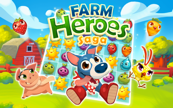 Advergame World - Aleix Risco - Farm Heroes Saga