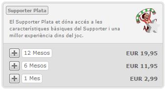 Advergame World - Aleix Risco - Hattrick - Supporter Plata