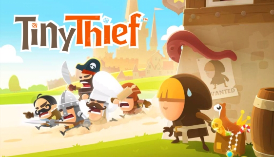 Advergame World - Aleix Risco - Tiny Thief - Logo - Portada