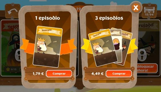 Advergame World - Aleix Risco - Tiny Thief - Pay-to-Play - Freemium