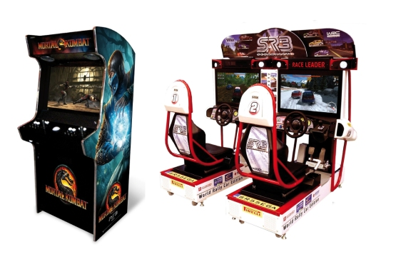 AdvergameWorld - Aleix Risco - Máquina Recreativa - Arcade