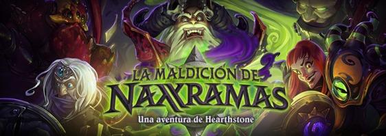 Advergame World - Aleix Risco - Advergame - Blizzard - HearthStone - La Maldición de Naxramas - Portada