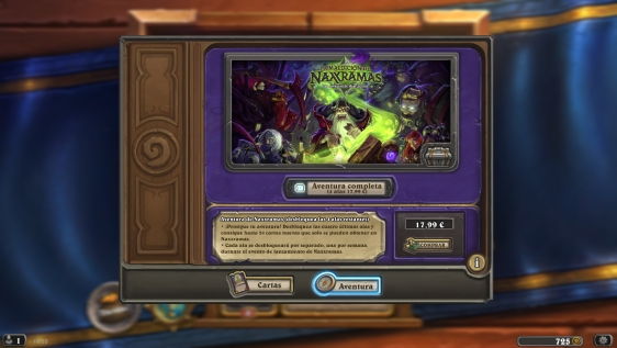 Advergame World - Aleix Risco - Advergame - Blizzard - HearthStone - La Maldición de Naxramas - Precios