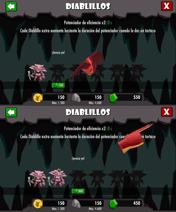 Advergame World - Aleix Risco - Advergame - Dungeon Keeper - Diablillos Precio