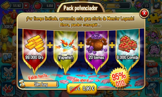 Advergame World - Aleix Risco - Advergame - Social Point - Monster Legends - Monetización - Promoción Vapwhirl II