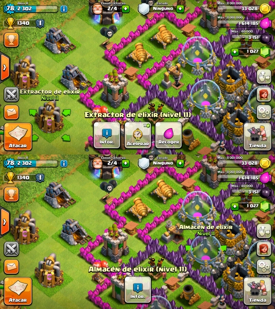 Advergame World - Aleix Risco - Monetización - Clash of Clans - Recursos