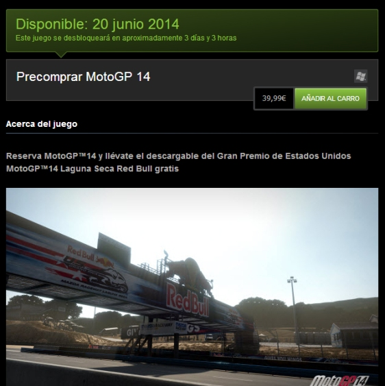 Advergame World - Aleix Risco - Monetización - DLC -  MotoGP 14