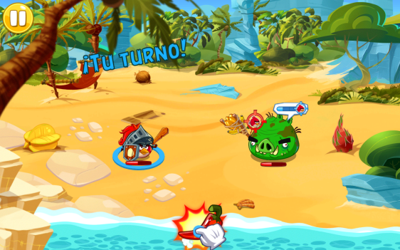 Advergame World - Aleix Risco - Rovio - Angry Birds Epic - Guindilla Furiosa