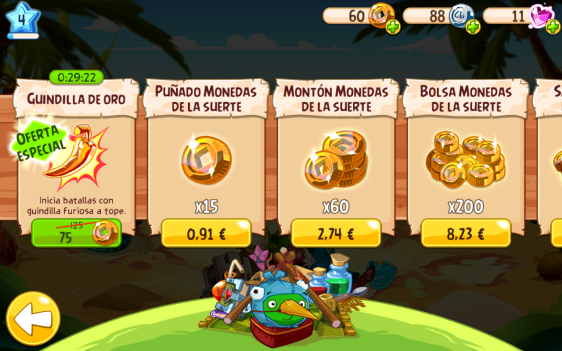 Advergame World - Aleix Risco - Rovio - Angry Birds Epic - Oferta II (Conquistadores)