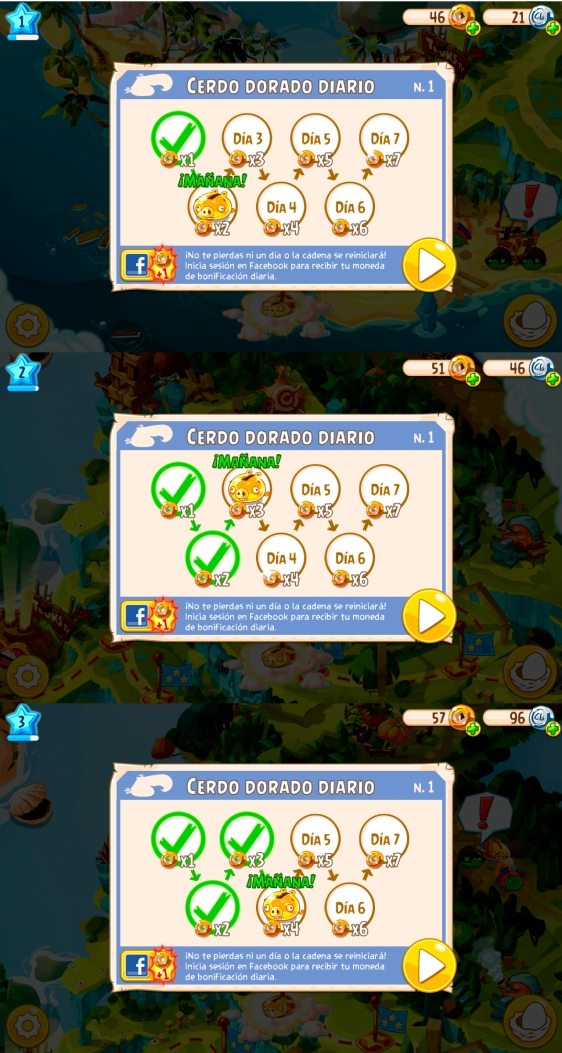 Advergame World - Aleix Risco - Rovio - Angry Birds Epic - Recompensa Diaria