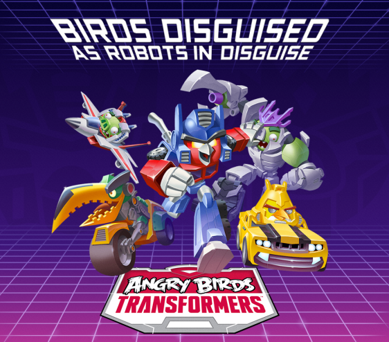Advergame World - Aleix Risco - Rovio - Angry Birds Transformers