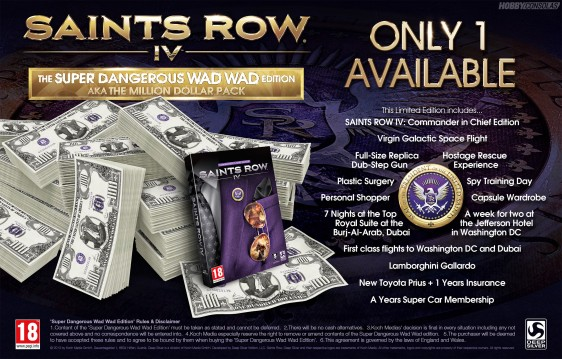 Advergame World - Aleix Risco - Saints Row IV - Edición Limitada