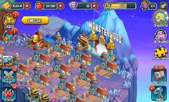 Advergame World - Aleix Risco - Social Point - Monster Legends - Monsterwood