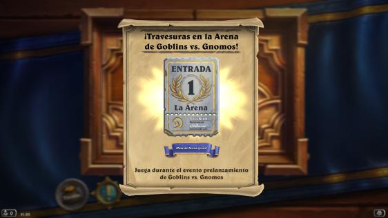 Advergame World - Aleix Risco - Advergame - Blizzard - HearthStone - Goblins vs Gnomos - Arena II