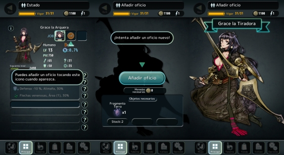 Advergame World - Aleix Risco - Terra Battle - Añadir Oficio
