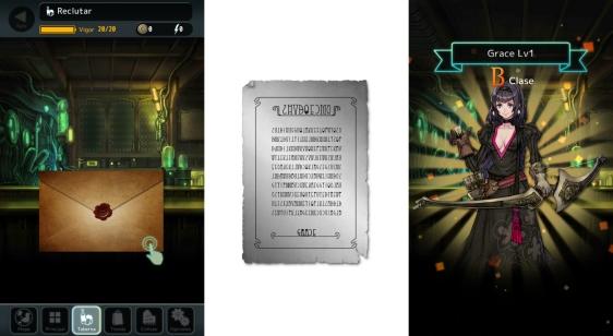 Advergame World - Aleix Risco - Terra Battle - Contrato - Grace