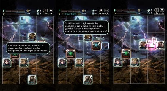 Advergame World - Aleix Risco - Terra Battle - Tutorial - Combate