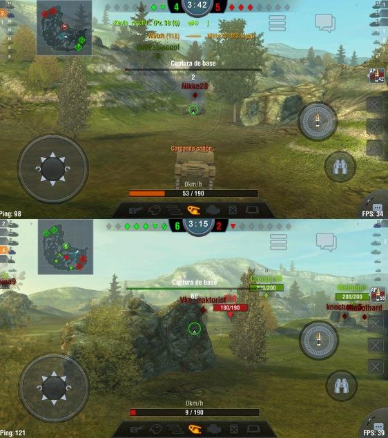 Advergame World - Aleix Risco - World of Tanks - WotBlitz - Combate