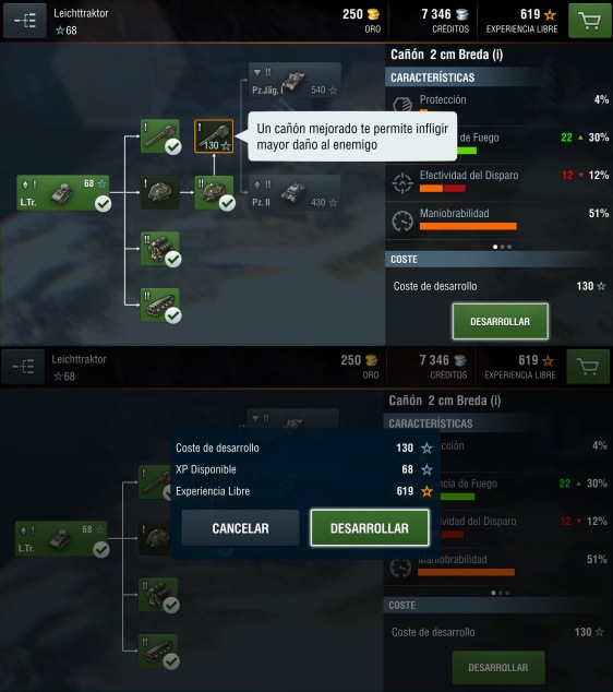 Advergame World - Aleix Risco - World of Tanks - WotBlitz - Nuevos Módulos