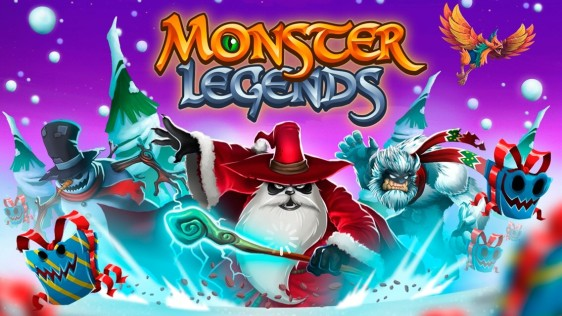 Advergame World - Aleix Risco - Monster Legends - Actualización - Invierno