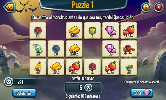 Advergame World - Aleix Risco - Monster Legends - Retención - Evento II