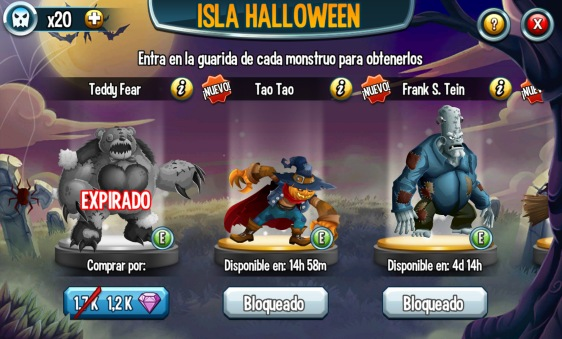 Advergame World - Aleix Risco - Monster Legends - Retención - Evento IV