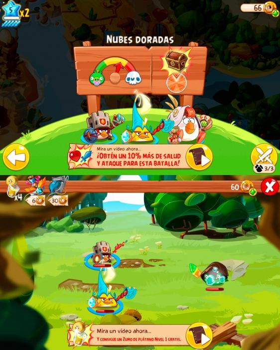 Advergame World - Aleix Risco - Rovio - Angry Birds Epic - Publicidad
