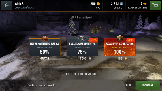 Advergame World - Aleix Risco - World of Tanks - WotBlitz - Oro - Academia Acorazada