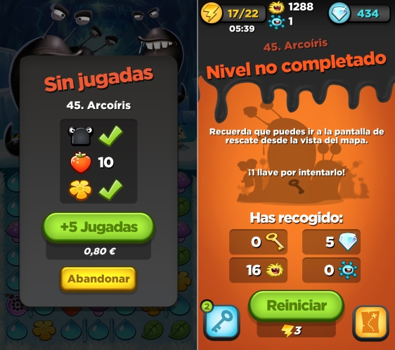 Advergame  World - Aleix Risco  - Monetización - Estrategia de Monetización - F2P - Best Fiends - Evil Design
